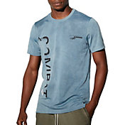 Reebok Men's Combat Spray Dye Boxing T-Shirt