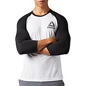 Reebok Men's Baseball Three Quarter Length Sleeve Shirt