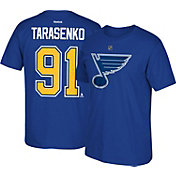 Reebok Men's St. Louis Blues Vladimir Tarasenko #91 Home Player T-Shirt