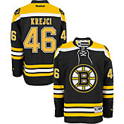 Reebok Men's Boston Bruins David Krejci #46 Premier Replica Home Jersey