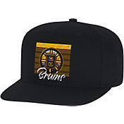 Mitchell & Ness Men's Boston Bruins Digital Snapback Hat