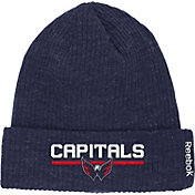 Reebok Men's Washington Capitals Center Ice Cuffed Knit Hat