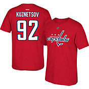 Reebok Men's Washington Capitals Evgeny Kuznetsov #92 Replica Home Player T-Shirt
