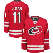 Reebok Men's Carolina Hurricanes Jordan Staal #11 Premier Replica Home Jersey