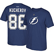 Reebok Men's Tampa Bay Lightning Nikita Kucherov #86 Home Player T-Shirt