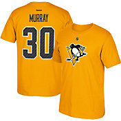 Reebok Men's Pittsburgh Penguins Matt Murray #30 Replica Alternate Player T-Shirt