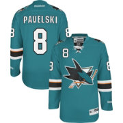 Reebok Men's San Jose Sharks Joe Pavelski #8 Premier Replica Home Jersey