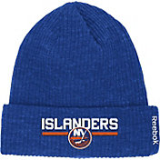 Reebok Men's New York Islanders Center Ice Cuffed Knit Hat