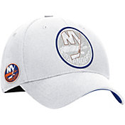 Reebok Men's New York Islanders White Flex-Fit Hat