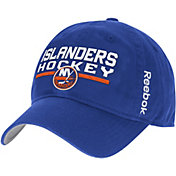 Reebok Men's New York Islanders Center Ice Locker Room Royal Slouch Adjustable Snapback Hat