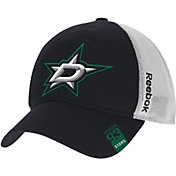 Reebok Men's Dallas Stars Center Ice Slouch Black Flex Hat