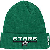 Reebok Men's Dallas Stars Center Ice Cuffed Knit Hat