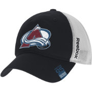Reebok Men's Colorado Avalanche Center Ice Slouch Black Flex Hat