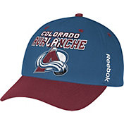 Reebok Men's Colorado Avalanche Blue/Maroon Structured Adjustable Hat