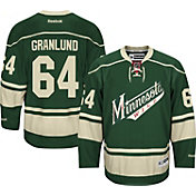 Reebok Men's Minnesota Wild Mikael Granlund #64 Premier Replica Alternate Jersey