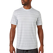 Reebok Men's Stripe Performance T-Shirt – Extended Size