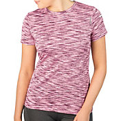 Reebok Women's Mélange Crewneck Vector T-Shirt