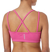 Reebok Women's Cotton Front Keyhole Strap Sports Bra