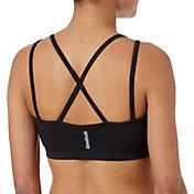 Reebok Women's Cotton Front Keyhole Strap Sports Bra