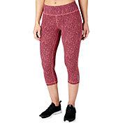 Reebok Women's Fitness Essentials Tight Fit Printed Capris
