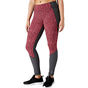 Reebok Women's Heather Corkboard Fitness Essentials Leggings