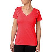 Reebok Women's Heather Performance V-Neck T-Shirt