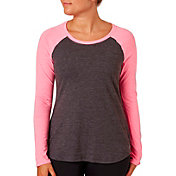 Reebok Women's Baseball Long Sleeve Shirt