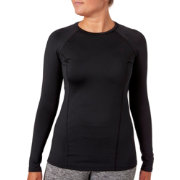 Reebok Women's Cold Weather Compression Crewneck Long Sleeve Shirt
