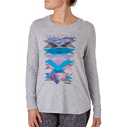 Reebok Women's Strength Graphic Long Sleeve Shirt