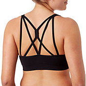 Reebok Women's Melange Crossback Sports Bra