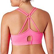 Reebok Women's Multi-Strap Cami Seamless Heather Bra