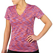 Reebok Women's Spacedye Melange Vector T-Shirt