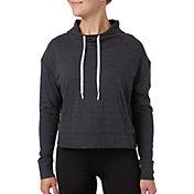 Reebok Women's Plus Size Jersey Hoodie