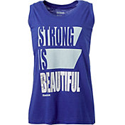 Reebok Women's Plus Size Strong Graphic Muscle Tank Top