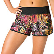 Reebok Women's Plus Size Printed Running Shorts