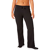 Reebok Women's Plus Size Brushed Open Hem Sweatpants