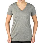 Reebok Women's Plus Size Solid Vector T-Shirt