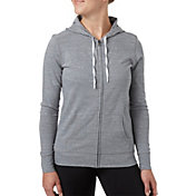 Reebok Women's Plus Size Jersey Full Zip Hoodie