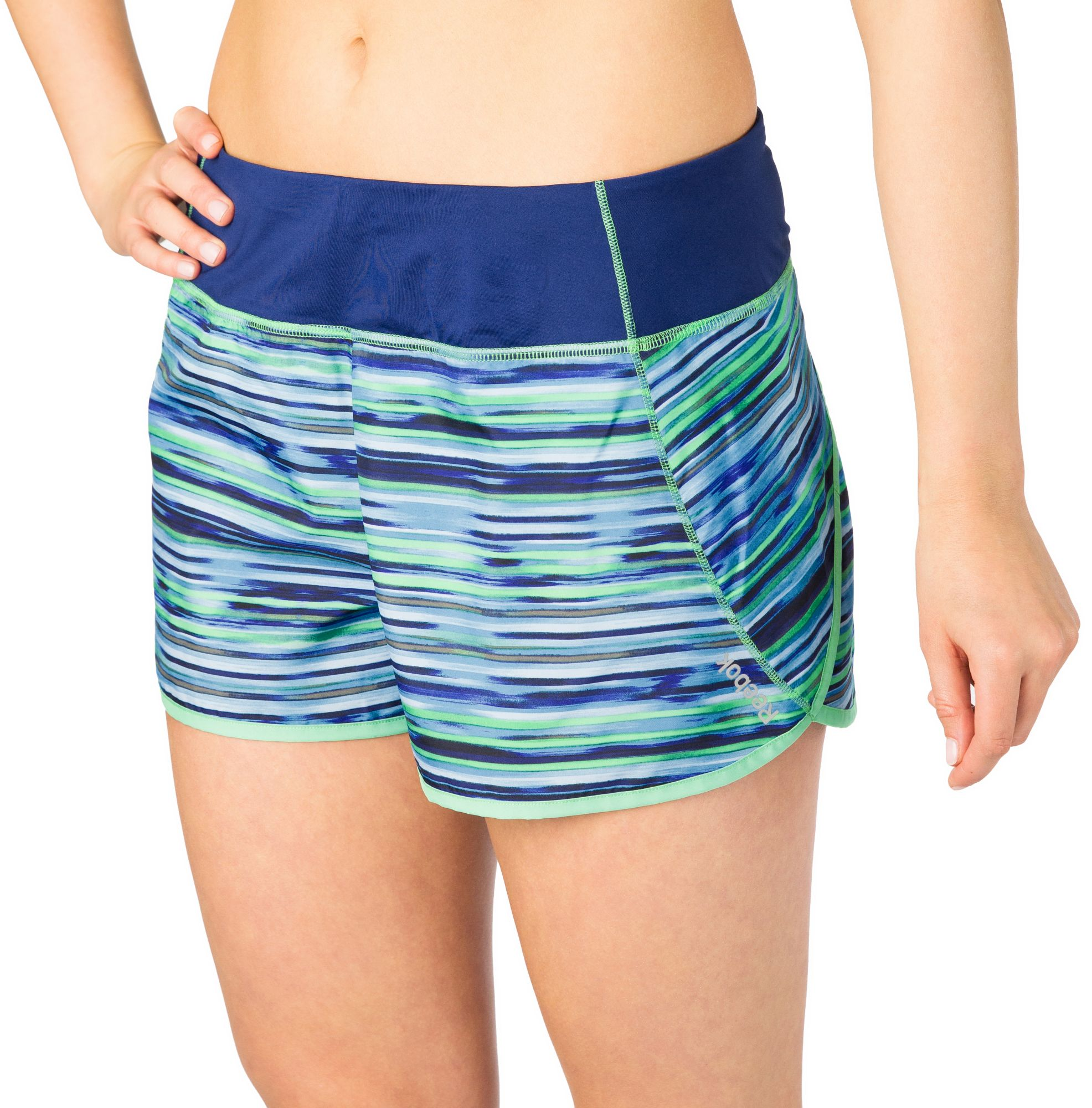 Nike womens running shorts with liner - Product Image Reebok Women S Printed Running Shorts