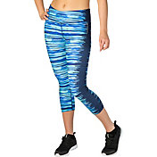 Reebok Women's Performance Essentials Tight Fit Printed Capris
