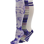 Reebok Women's Knee High Socks 3 Pack