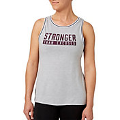 Reebok Women's Rib Trim Stronger Than Excuses Graphic Tank Top