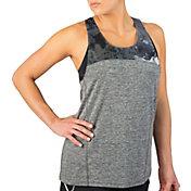Reebok Women's Printed Mesh Running Tank Top
