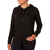 Reebok Women's Solid Brushed Fleece Hoodie