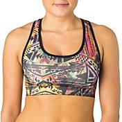 Reebok Women's Seamless Printed Sports Bra