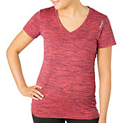 Reebok Women's Honeycomb Melange Vector T-Shirt