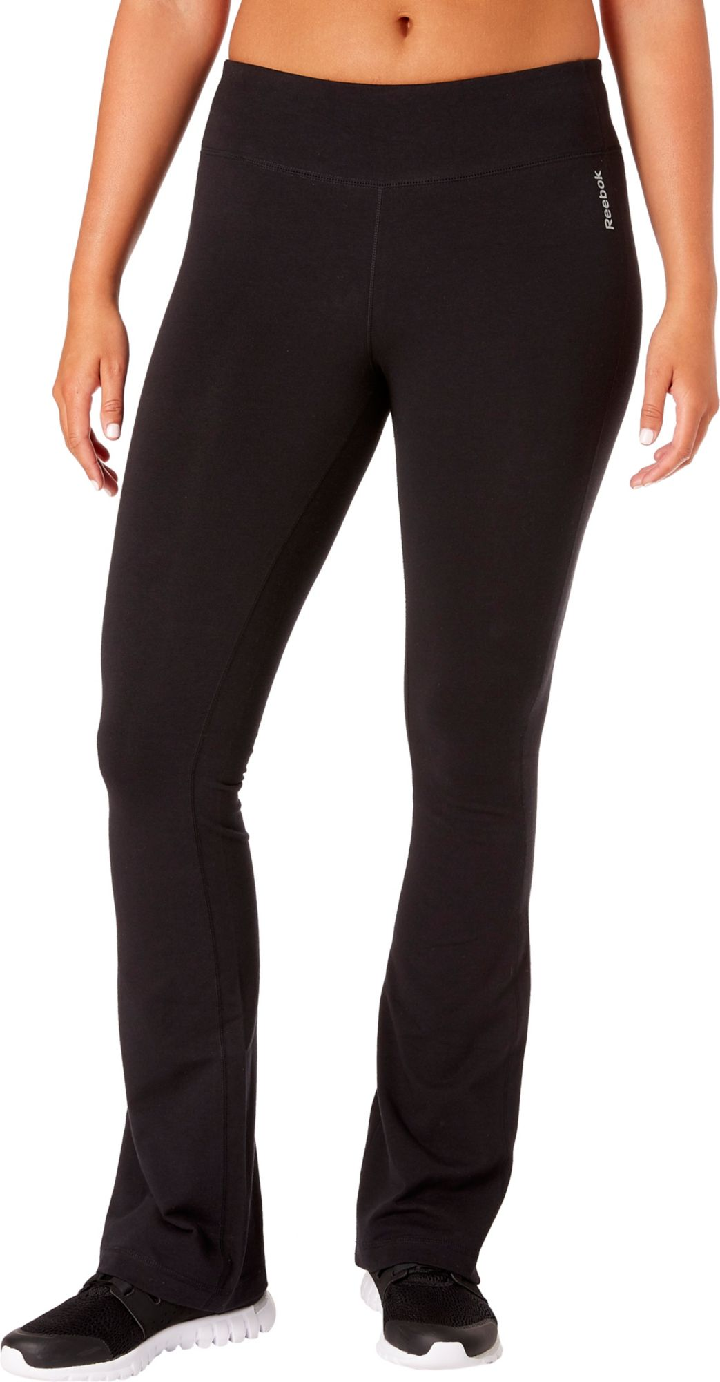 Reebok Women's Stretch Cotton Flare Pants by Reebok