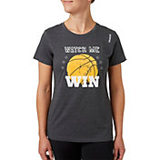 Reebok Women's Watch Me Win Graphic Basketball T-Shirt