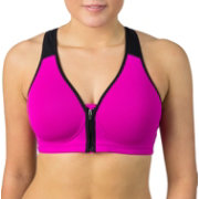 Reebok Women's Zip Front Sports Bra