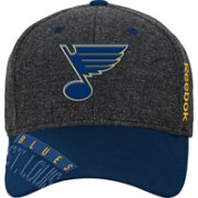 Reebok Youth St. Louis Blues Heather Grey Center Ice Playoff Flex Hat